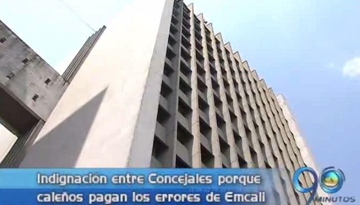 Concejales de Cali temen una segunda intervención del Estado a Emcali