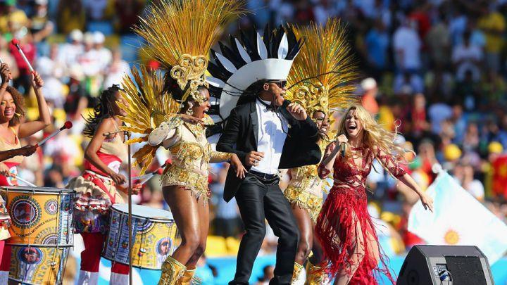 Shakira prendió la fiesta en la final