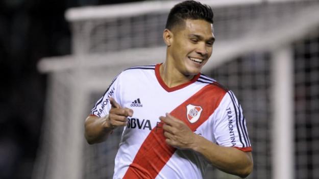 En River Plate esperan a Teófilo Gutiérrez que aún no se incorpora al equipo