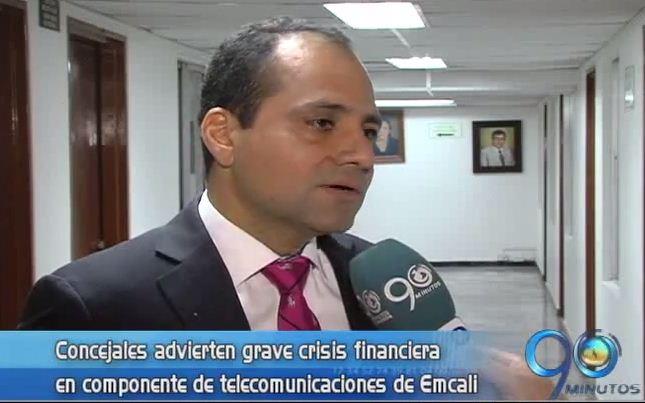 Advierten crisis financiera en telecomunicaciones de Emcali