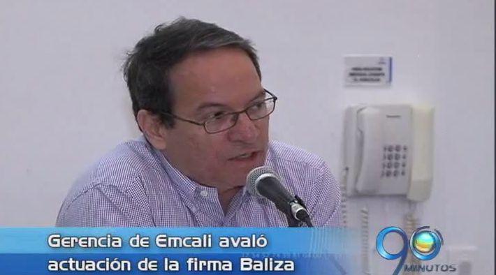 Gerencia de Emcali avala procedimientos de la empresa Baliza