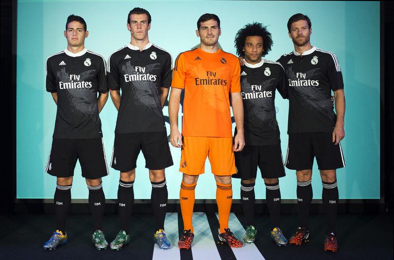 James Rodríguez vistió el nuevo uniforme del Real Madrid