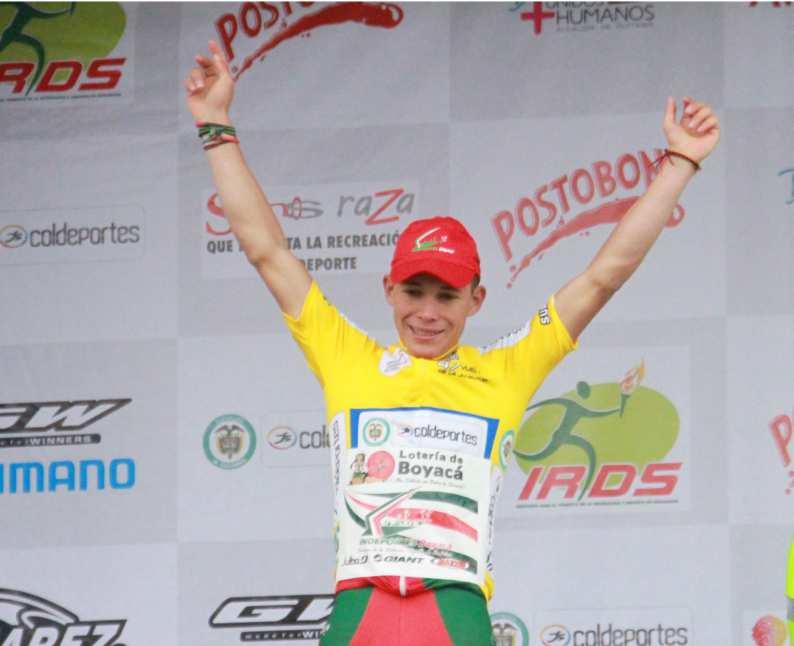 Miguel Ángel López, cerca de coronarse campeón del Tour de l'Avenir