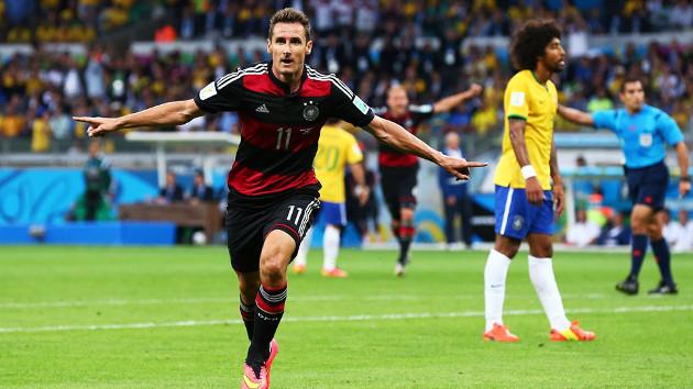 Se retira el goleador histórico de los Mundiales, Miroslav Klose