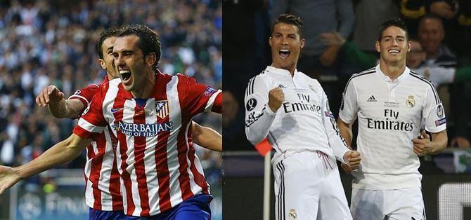Real Madrid y Atlético de Madrid se disputan la Supercopa de España
