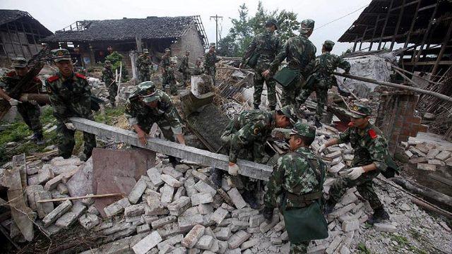Aumenta número de víctimas por terremoto en el sur de China