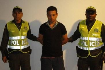 Capturado presunto responsable de activación de moto-bomba en Pradera