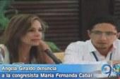 Ángela Giraldo denuncia a la congresista María Fernanda Cabal
