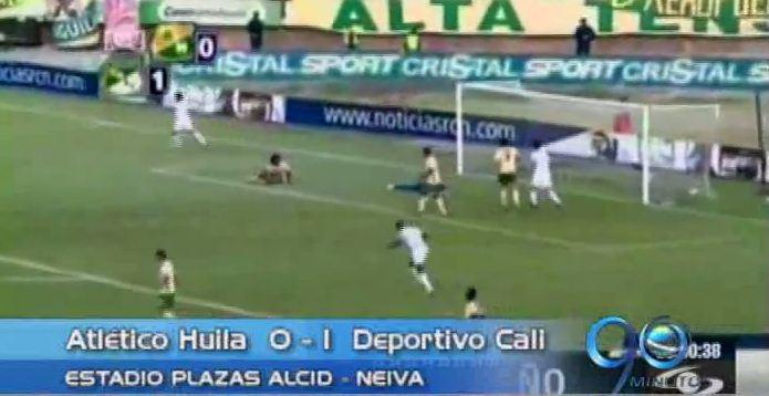 El Deportivo Cali venció a Huila y ya es tercero en la liga postobón