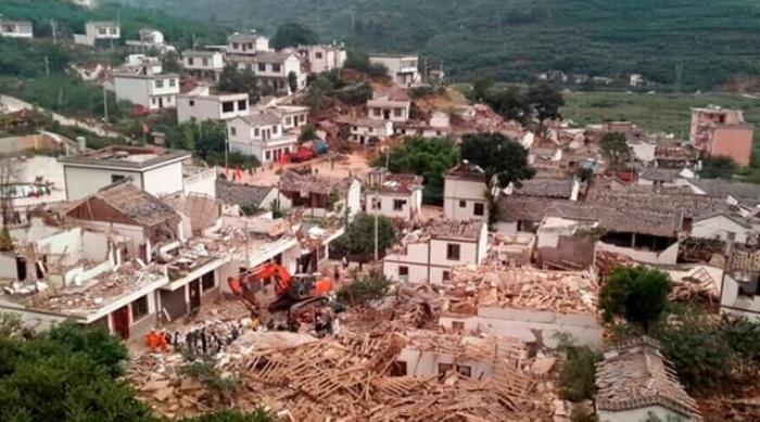 terremoto aflige el suroeste de China