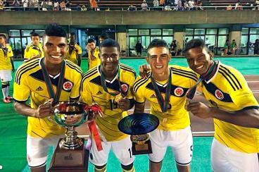 La selección Colombia Sub 20 se coronó campeona en Japón