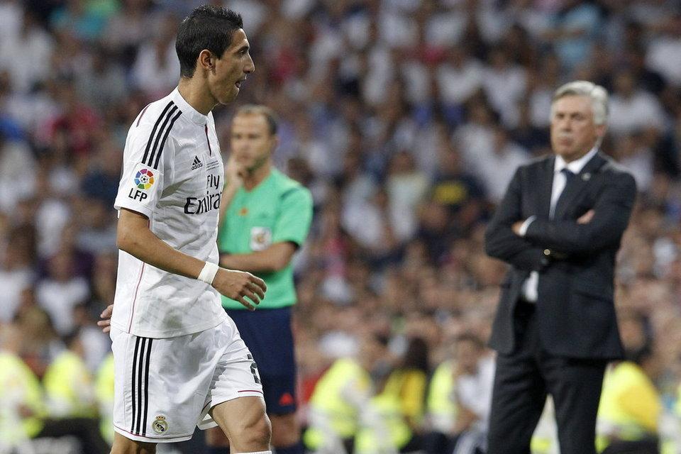 Ancelotti confirma que Di María quiere irse del Real Madrid