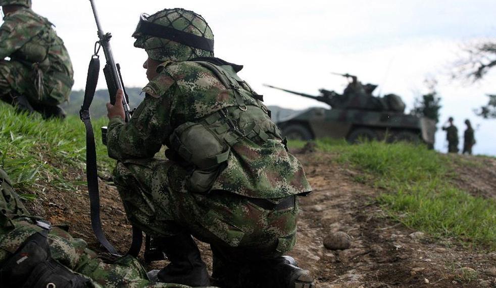 Ejército da de baja a dos guerrilleros en combate
