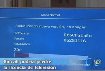 La empresa Emcali podría perder la licencia de televisión