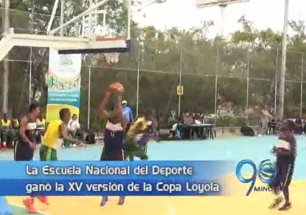 La Escuela Nacional del Deporte fue la ganadora de la Copa Loyola