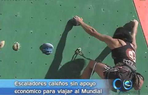 Escaladores buscan recursos para competir en el Mundial