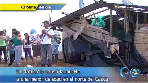Farc afirma no ser responsable por muerte de niña en Cauca