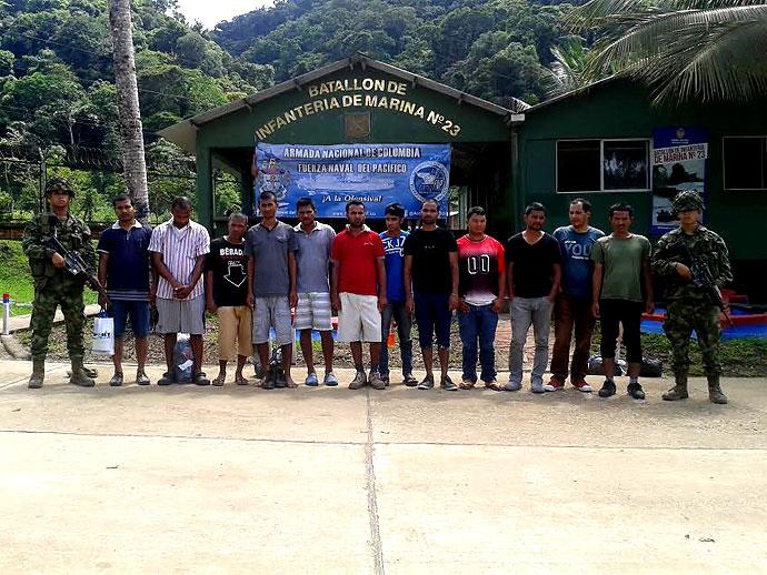 Encuentran 29 inmigrantes ilegales en Chocó