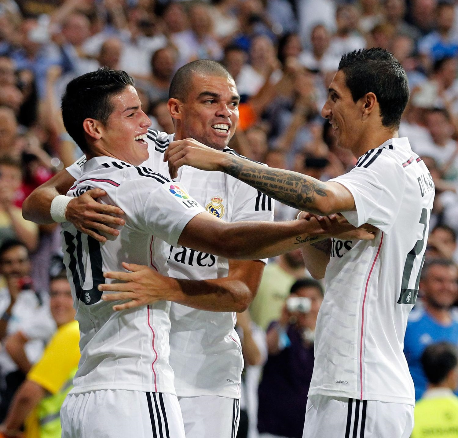 James calificó de injusto el empate ante medios españoles