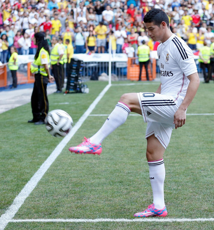 James será titular del Real Madrid para el encuentro ante el Sevilla