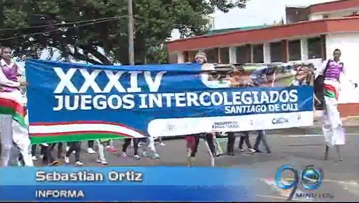 Se inauguraron los Juegos Intercolegiados de Cali con 200 instituciones escolares