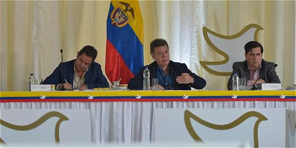 Gobierno de Santos fija nuevas metas económicas
