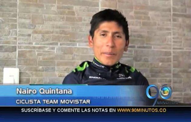 Nairo Quintana, cuarto favorito a ganar la Vuelta a España