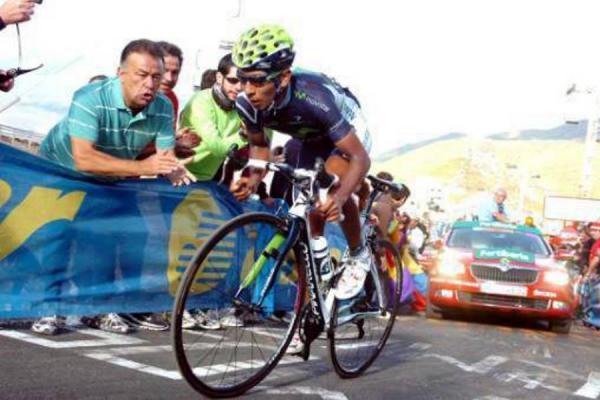 Vuelta de Burgos: Nairo Quintana quedó de 11 en la primera etapa