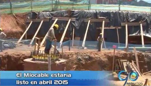 Obras del MIO Cable estarían listas en abril de 2015