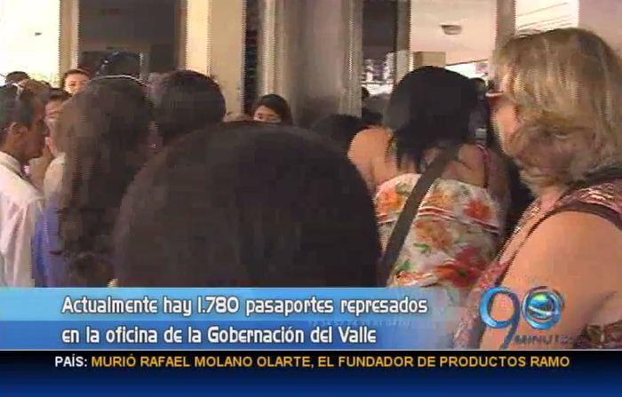 Oficina de pasaportes la más afectada por falla del sistema en la Gobernación