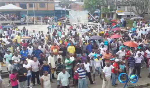 Diez días completa el paro cívico en once municipios del Pacífico