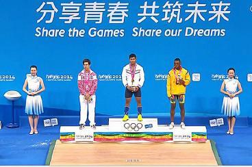 Bronce para Colombia en los Juegos Olímpicos de la Juventud 2014