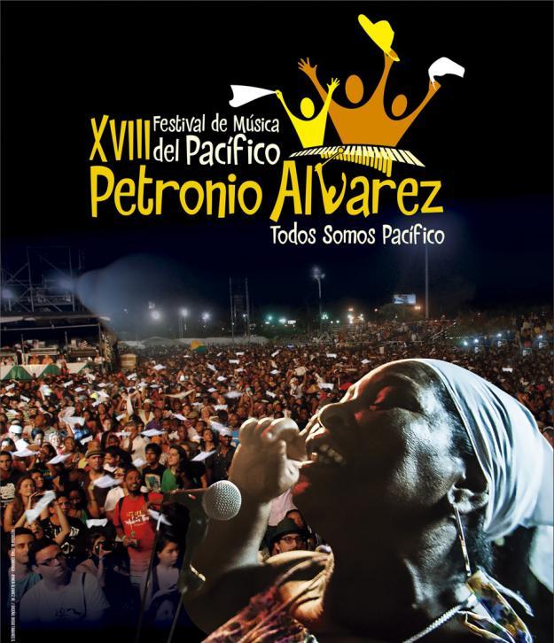 Las localidades del Festival Petronio Álvarez a lo largo de su historia