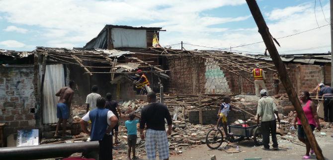 Avanzan procesos de recuperación de espacio público en el Barrio Mojica II