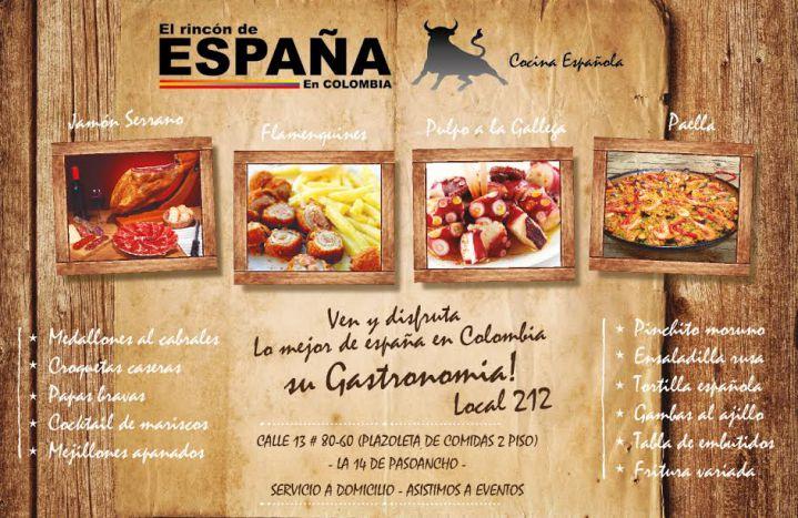 Un 'rincón' en Cali para disfrutar de la gastronomía española