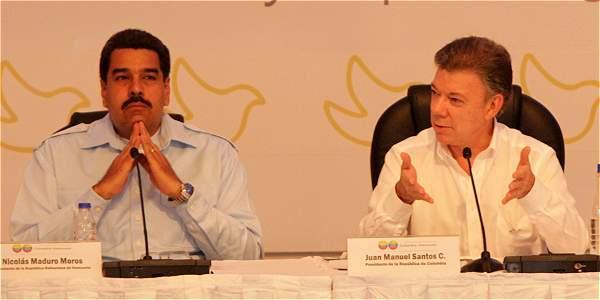 """""""La paz nunca estuvo tan cerca"""", mencionó Maduro en Cartagena"""