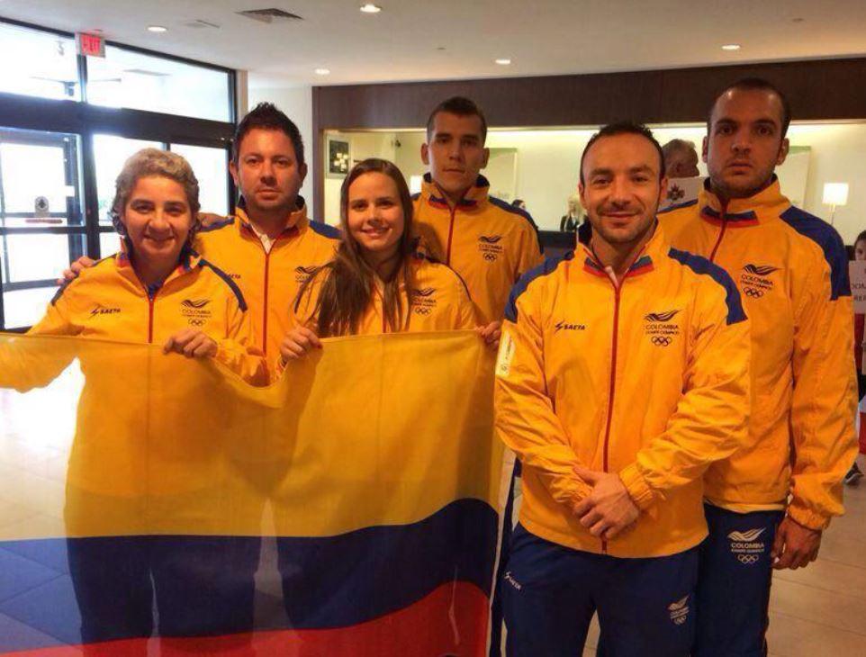 Selección Colombia de racquetball inició con pie derecho en México