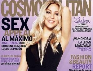 Shakira confirma que está embarazada a la revista Cosmopolitan