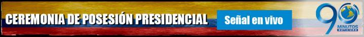 Ceremonia de Posesión del Presidente Juan Manuel Santos – Transmisión en vivo