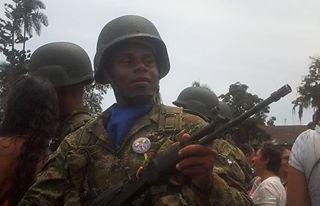 Soldado fallece por imprudencia de un compañero