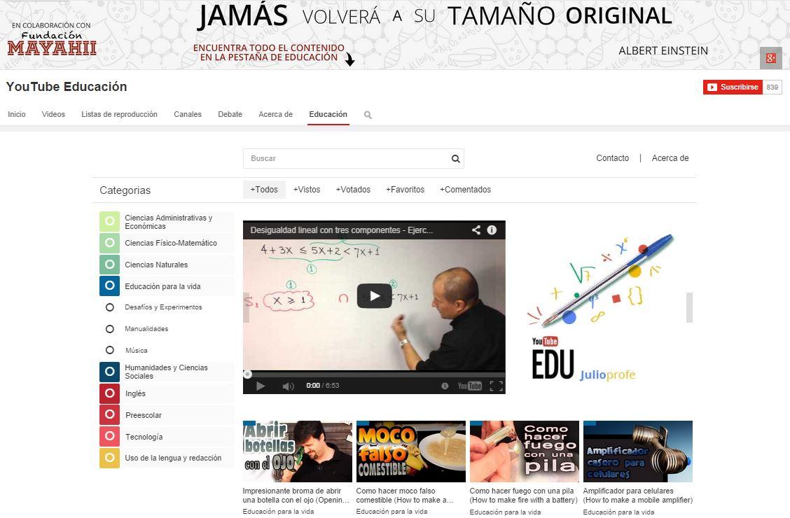 El contenido educativo de YouTube EDU llega a Colombia