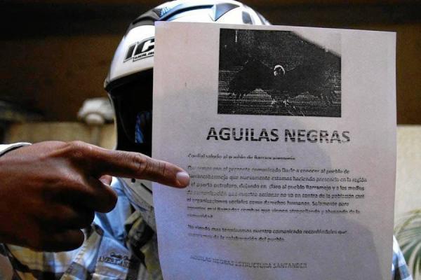 Septiembre, mes con más amezas en Colombia, según ONG