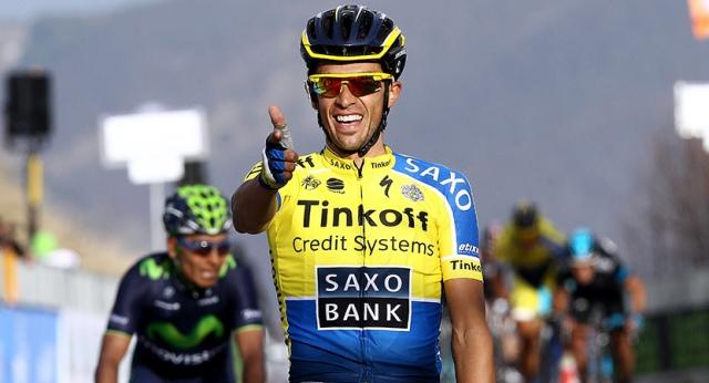Contador gana la etapa 'reina' de la Vuelta y es líder en la tabla de posiciones