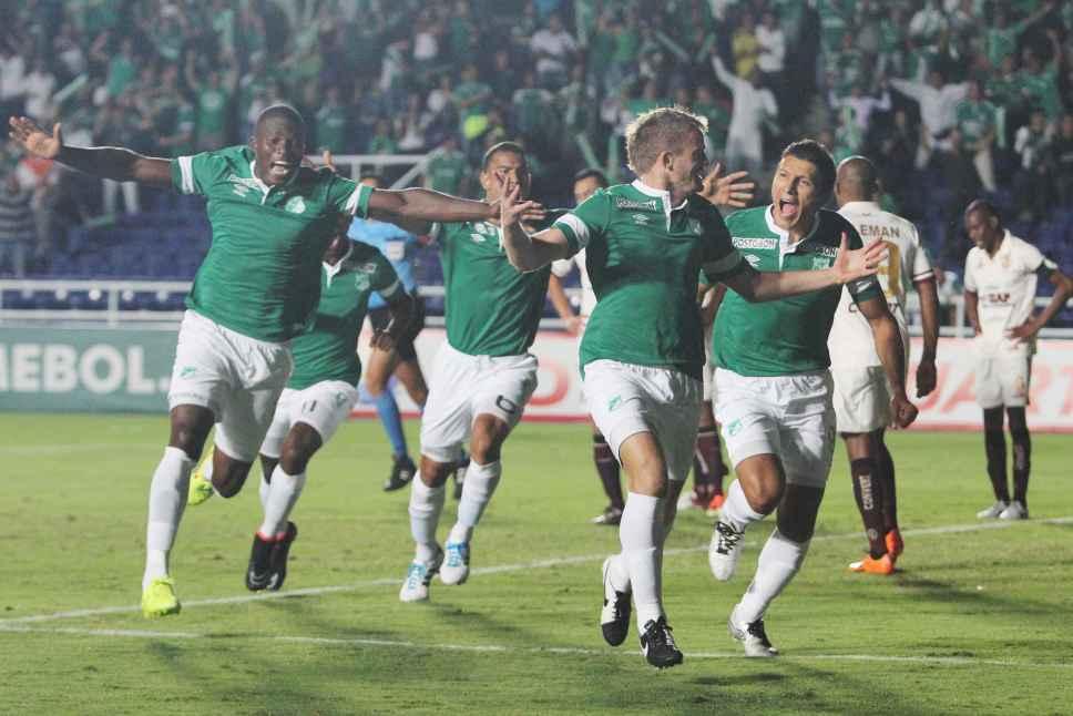 Deportivo Cali ganó 1-0 a las Águilas Doradas en la ciudad de Pereira