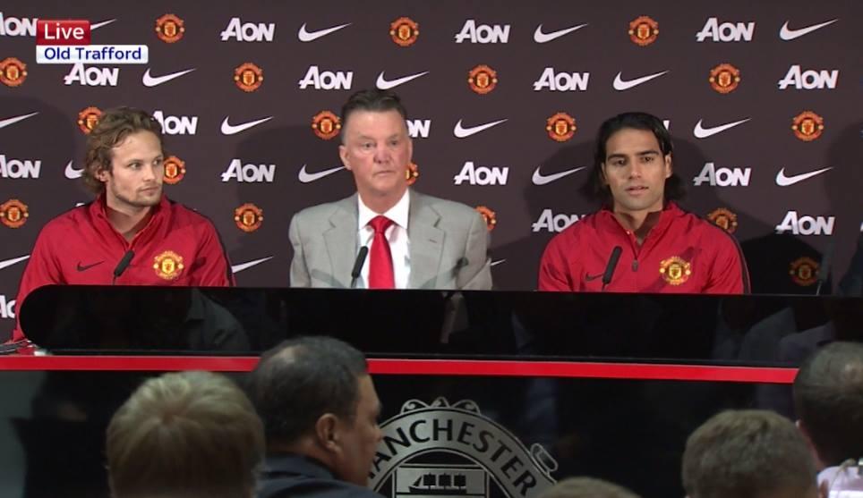 El 'Tigre' fue presentado oficialmente por el Manchester United
