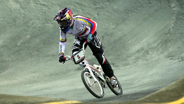 Mariana Pajón encabeza el equipo colombiano en la Copa del Mundo de BMX