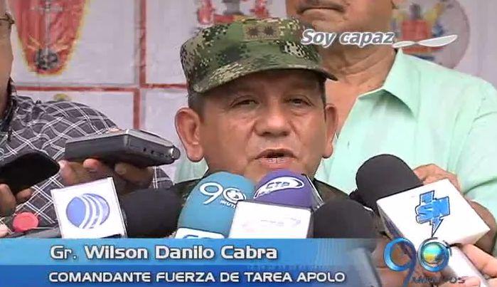 Balance de operativos del Ejército contra la guerrilla en el suroccidente