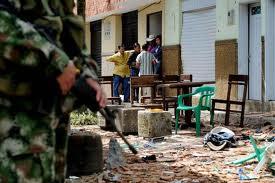 Miembros de las Farc atacaron tropas del Ejército en Mondomo