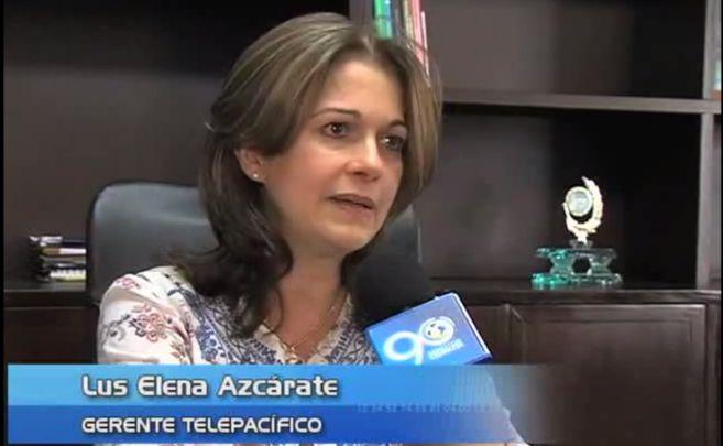 Luz Elena Azcárate renunció hoy a la gerencia de Telepacífico