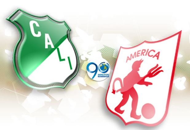 Deportivo Cali y América están liderando el fútbol colombiano